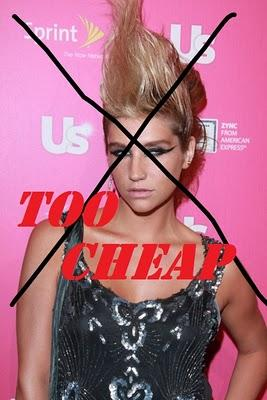 Ke$ha = Poor Gaga !!!