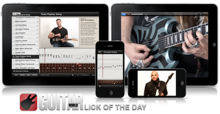 Zakk Wylde - Lezioni private di chitarra su IPhone, IPod Touch e IPad (Lick Of The Day new app) ...(video)