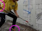 Imbiancare muro sporco: tutorial cura Paris Hilton.