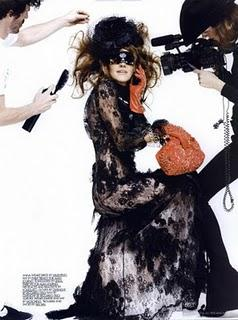 Anna dello Russo su 10 Magazine Winter Issue
