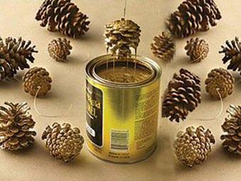 Decorazioni natalizie le pigne dorate paperblog - Decorazioni natalizie pigne ...
