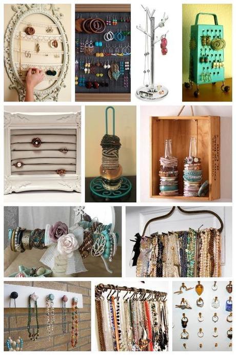 Diy portagioie idee per sistemare i bijoux paperblog - Portagioie fai da te ...