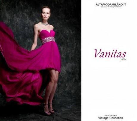 check out afcb2 f5f5c Abiti da cerimonia milano VANITAS Collection 2013 made in ...