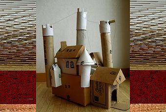Un castello di cartone! - Paperblog