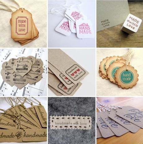 packaging] handmade tags per i nostri regali di natale - Paperblog