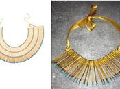 Today necklace with hair clips inspired Aurèlie Bidermann