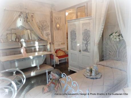 Come arredare una stanza da letto d 39 ispirazione gustaviana paperblog - Arredare stanza da letto ...