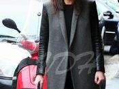 Milano Fashion Week 2013 Street style Leather Coat
