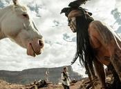 Johnny Depp faccia cavallo nella nuova immagine Lone Ranger