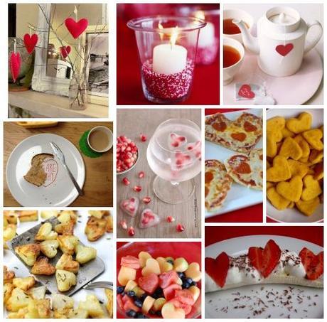 San valentino 10 idee per decorare la tavola e i vostri piatti paperblog - Idee tavola san valentino ...