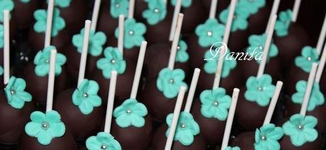 I miei cake pops Tiffany