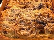 Spaghetti carciofi forno.