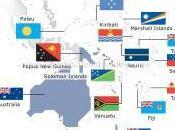 questione delle bandiere nazionali scuote l'oceania