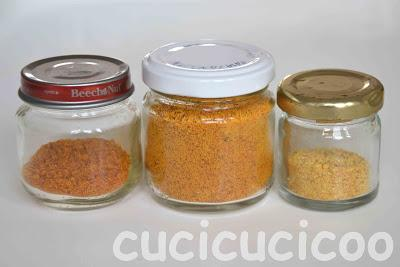 polverine in cucina - powders in the kitchen