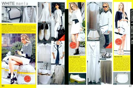 My Work... Voguistas for the Shopping in Vogue