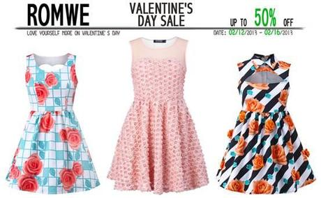 Dress Code per San Valentino by Romwe