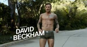 David Beckham nello spot H&M