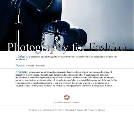 Photography for Fashion!