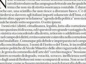 Masochismo elettorale: sono caduti ancora. Michele Serra Crozza