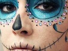 Tutorial: Glitter Calavera Carnival Party!