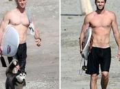 Chris Liam Hemsworth mostrano muscoli Costa Rica