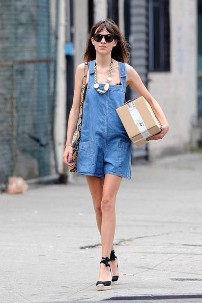 Alexa Chung erede naturale di Kate Moss? Io dico di sì
