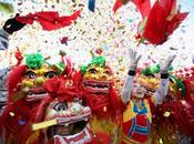 Cina festeggia l'anno serpente