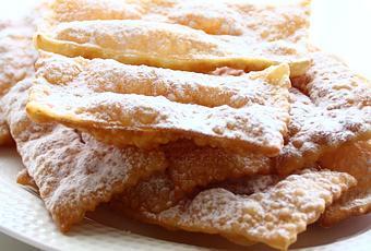 frappe di ada boni per salutare il carnevale paperblog On il libro di cucina con le ricette di ada boni