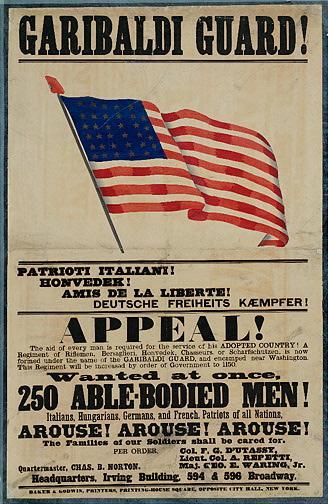Quei soldati borbonici e garibaldini che si combatterono negli Usa