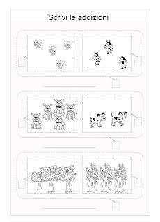 Schede Didattiche Addizioni Per La Prima Elementare Paperblog