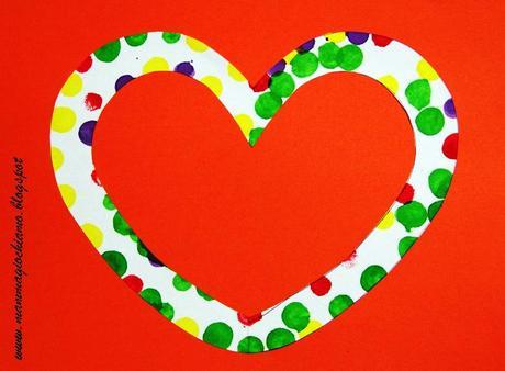 Lavoretto di san valentino decorazioni a pois paperblog - San valentino decorazioni ...
