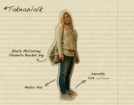 TAKEAWALK sneakers  lacoste outfit blogger
