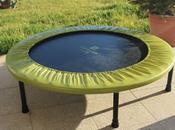 Mini gymnastic trampoline
