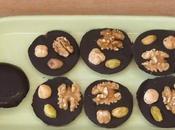 medaglie cioccolato fondente frutta secca