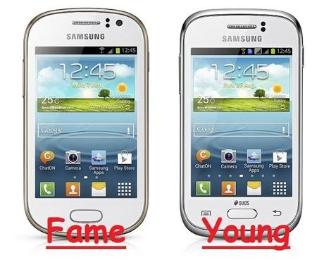 Samsung GALAXY Young e Samsung GALAXY Fame - Paperblog