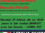 Filippo, Margiotta Pittella incontrano associazioni della città Lauria