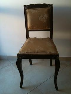 Recupero mobili la sedia shabby paperblog - Recupero mobili ...