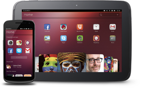 Ubuntu for Tablet e Ubuntu for Smartphone