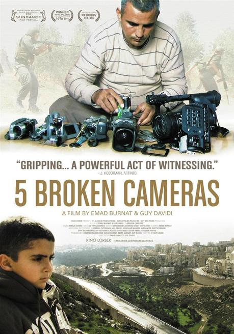5 Broken Cameras Movie Poster Large