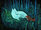 Fenrìs, lupo scarlatto protagonista cantore fiaba nordica