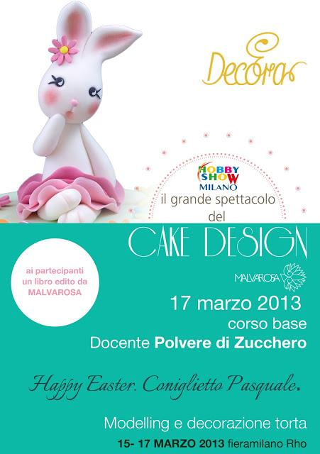 Hobby Show fiera a Milano: corsi di cake design e workshop ...