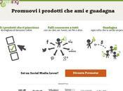 Promozione Sociale, Promuovi Prodotti Guadagna Blomming Social Affiliation