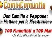 """ComixComunity Bilbolbul con: """"Don Camillo Peppone: Mattone Ricostruzione"""""""