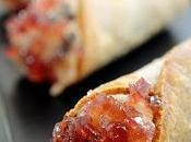Cannoli aringa, pecorino, uvetta gelatina dolcetto