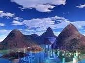 leggendaria Atlantide sotto Mauritius
