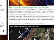 Banff mountain film festival world tour italy 2013