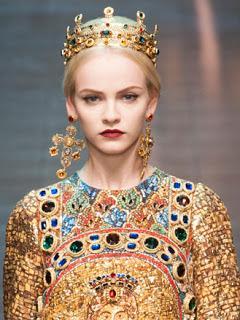 """Dolce   Gabbana collezione a i 2013 14  il """"disìo"""" di Sante e ... 1c1446368fa"""