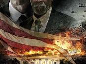Gerard Butler, Morgan Freeman Aaron Eckhart final poster Attacco Potere Olympus Fallen