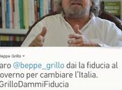 Caro @beppe_grillo fiducia Governo cambiare l'Italia. #GrilloDammiFiducia. petizione
