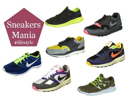 Sneakers mania #lifestyle